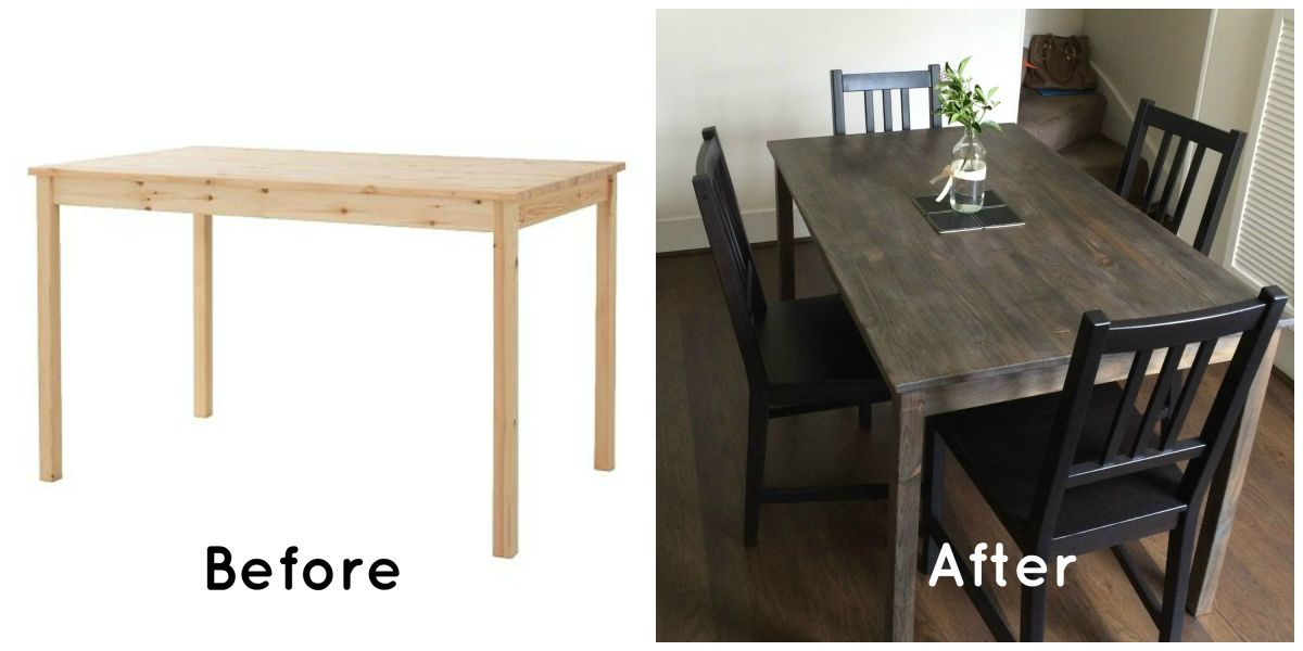 Dressing up ikea tables c l a r i m i c h e l e for Dining table dressing