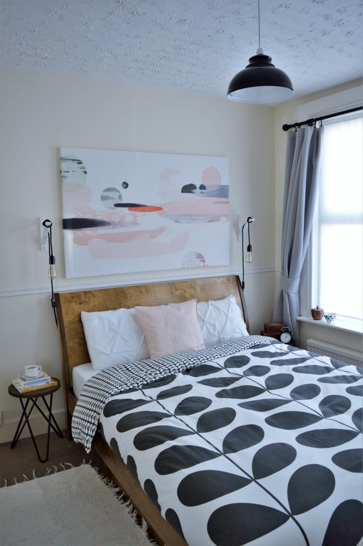 Bedroom Update with Photowall Canvas & Orla Kiely Duvet
