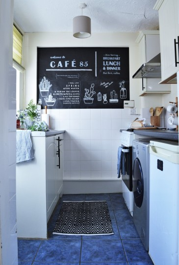 Tiny Kitchen Gets a Renter-Friendly Makeover After Photo