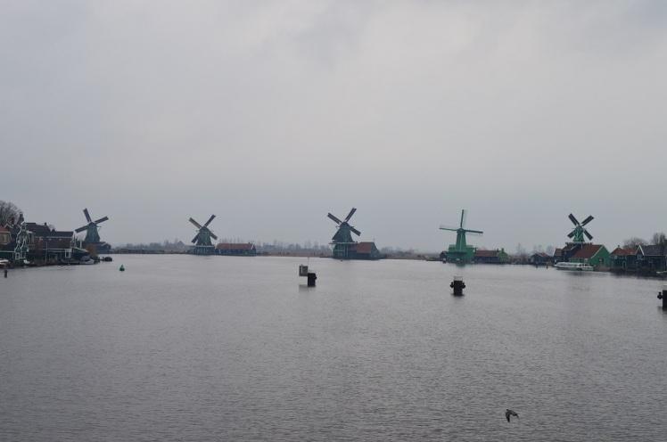 Zaanse Schans Windmills1