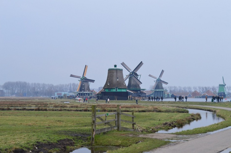 Zaanse Schans Windmills3