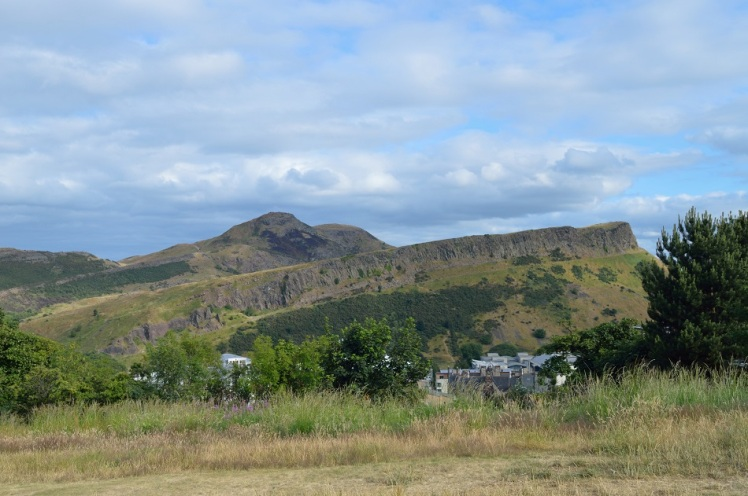 Arthur's Seat - From Calton Hill - Edinburgh
