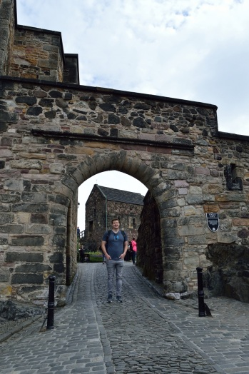 Edinburgh Castle - Andrew
