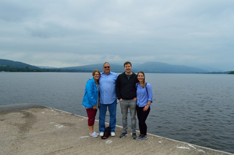 Loch Lomand - Scotland - The Family