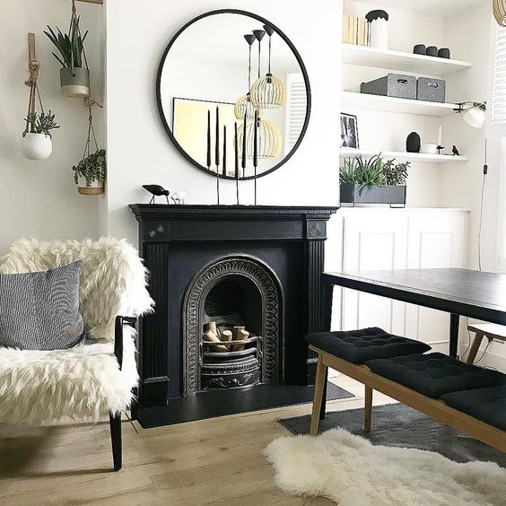 Victorian Fireplace - hello haus