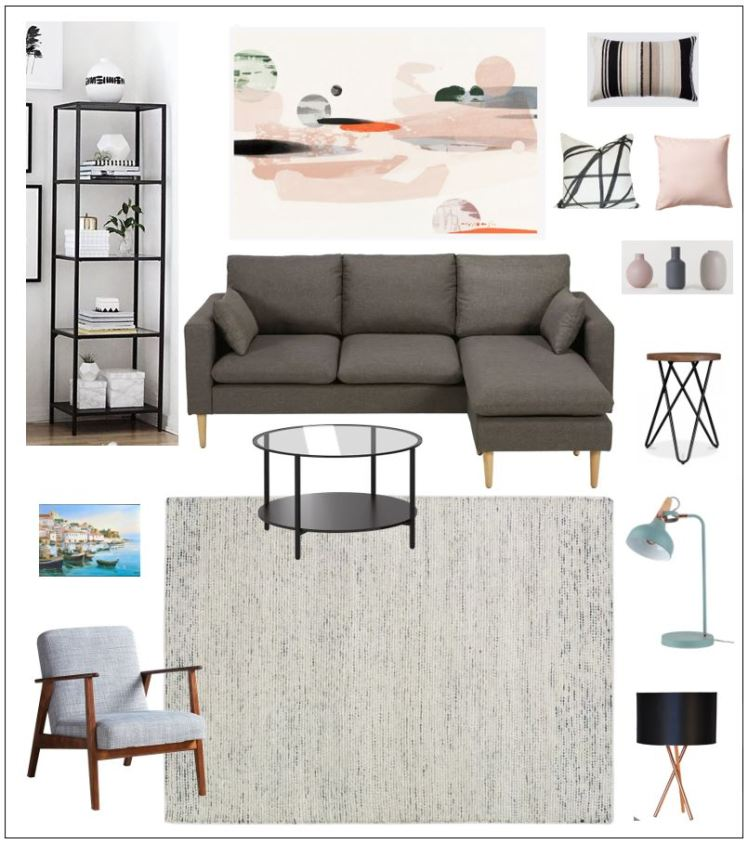 living room mood board 1