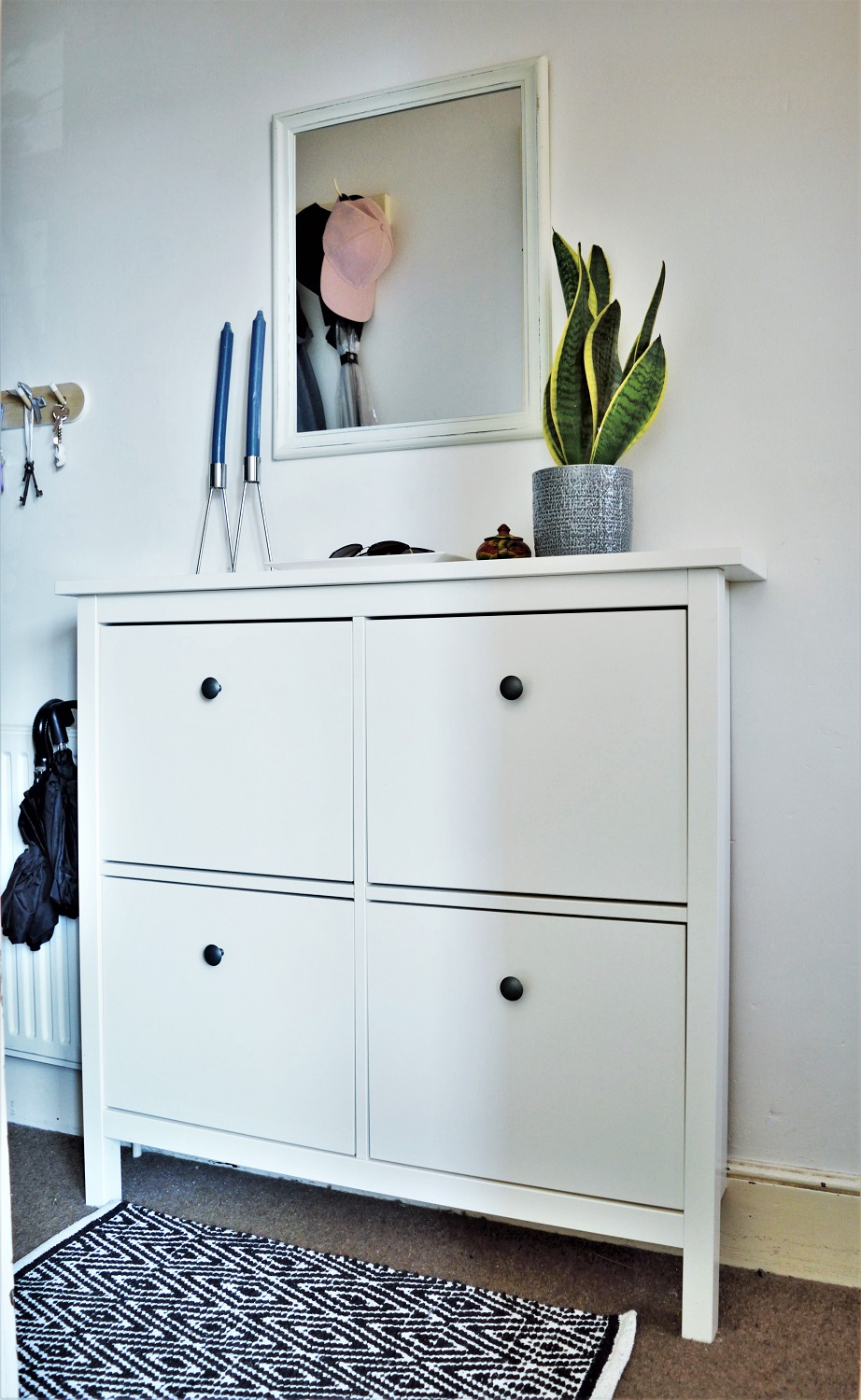 Ikea Hemnes shoe cupboard